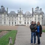 Chateau de Cheverny. Hergé, el creador de Tintín es va inspirar en aquest chateau per crear el
