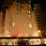 Valencia city plaza.