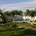 le jardin & la piscine