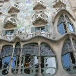 Casa Batllo, Gaudi building unmistakenly.
