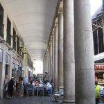 Mercat Boqueria aside of the Rambla St. Josep