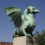 Ljubljana, Slovenia. City of Dragons.