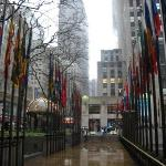 outside of the Rockefeller center