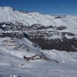 Switchbacks all the way up to Valle Nevado, sometimes closed for a week due to heavy snow