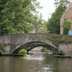 the oldest bridges in bruge
