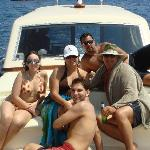 IN CAPRI ON THE CASA RELAX YACHT
