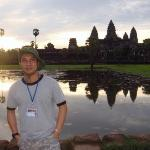 Angkor Wat - One of the - 10 Man-made travel wonders (Wikipedia) 1. Giza pyramid complex 2. Gr