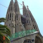 Sagrada de familia-Barecelona-Spain