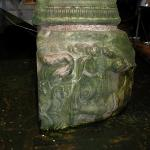 Yerebatan Sarnici - The Basilica Cistern - Istanbul 5 - All of the supports have a different fac