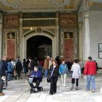 Topkapi Palace Museum - no photos aloud inside!