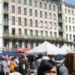 Vienna Naschmarkt ภาพถ่าย