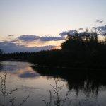 Chena River, the Midnight Sun