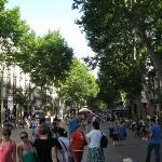 The famous Las Ramblas