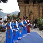 Dancers, Cham towers, Po Nagar- Nha Trang