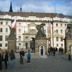 1st courtyard at Prague Castle