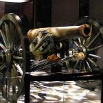 cannon at national military park museum