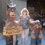 Joan in frontier land!