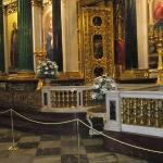 Dette er bilder inne i St.Isaac`s Cathedralen.