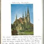 Schlesvig Domkirke. Læg mærke til min skrift og omtale. Ren historie fra virkelighedens verden.