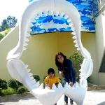 Ocean Park in Hongkong with the girls...Catya took the pic while Camille and I posed.