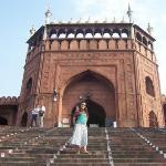 Jama Masjid - the principal mosque of Old Delhi.