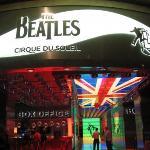 """Inside the Mirage, The Beatles """"Love"""" cirque de soleil box office, Las Vegas"""