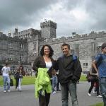 Kilkenny Castle in Ireland (Maz with cousin Rebeka)