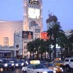 Wenne es Nacht wird am Strip in Las Vegas