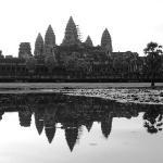 Angkor Wat  Picture taken at sunrise.