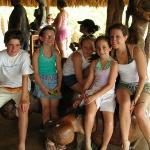 At the ostrich farm