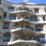 Casa Mila, näitä Gaudin juttuja