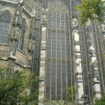 60 ft tall stain glass.  Even more impressive from inside.