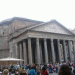 Pantheon.  Rome's oldest church.