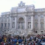 Trevi Fountain.  All the pictures are going really quick.  I took 400 pictures in Italy, how am