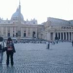 St. Peter's Square & St. Peter's Basillica.
