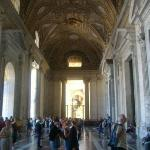 About to enter the Basillica.