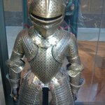 Museum of the Army.  Child's armor suit.