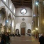Inside Santa Croce.  Told you it was beautiful.