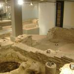 In the Hotel Derlon, next door.  Roman forums.  From my guidebook, I couldn't tell if this was i