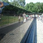 The Vietnam Veterans Memorial - Wasington D.C.