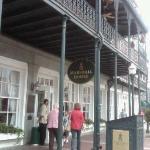 Marshall House in Savannah, GA