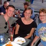 Again, Cody, Erica and me