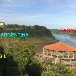 Iguassu River (Brazil x Argentina)  and Paraná River (Brazil x Paraguay and Argentina x Paraguay