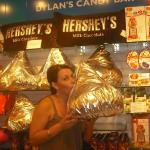now that's a hershey's kiss....
