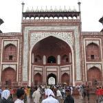 Entrance of Taj Mahal