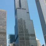 The Sears Tower N.K.A The Willis tower which is the tallest builing in America at 108 Stories at