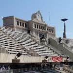 Inside Olympic Stadium Barcelona