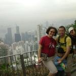 At Victoria Peak, Hong Kong