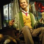 Looks like a lot of men in my dad's family, hey? This is from the Carousel of Progress in Magic