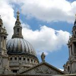 St. Paul's Cathedral. Designed by Sir Christopher Wren following the Great Fire in 1666